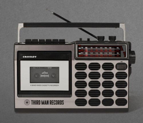 TMR/Crosley CT100A-SI Old School 80s Style Cassette Player Radio USB SD card