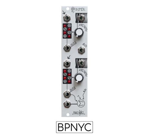Make Noise  modDemix  - two direct-coupled balanced modulator circuits