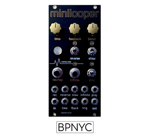 Maneco Labs minilooper  Euroack Modularsynths version