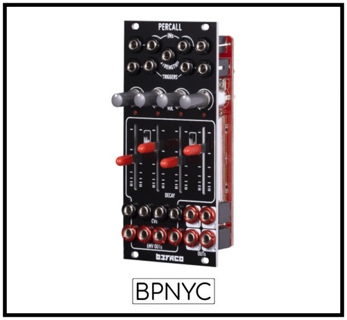 Befaco PERCALL / VC Quad Decay & Four Channel Mixer