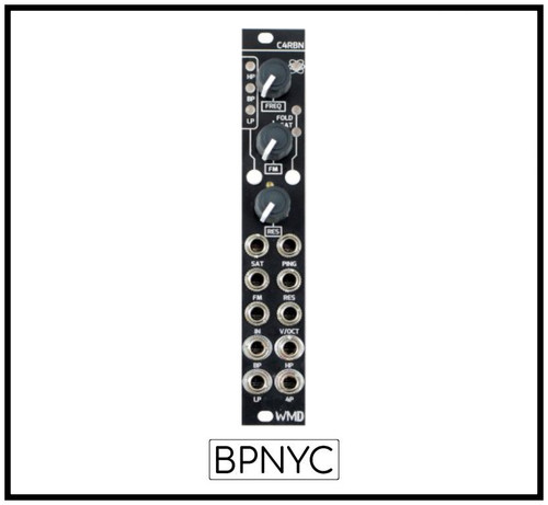 WMD C4RBN - 4/2 Pole State Variable Filter