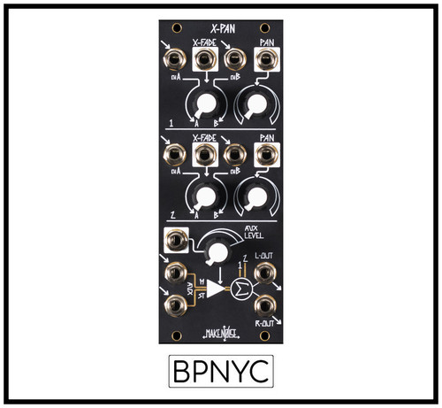 Make Noise  X-PAN  5 channel Voltage Controlled Stereo Mixer (ships Nov 2nd)