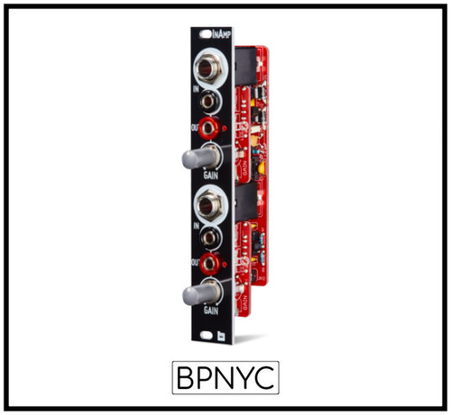 Befaco InAmp - Dual preamp module