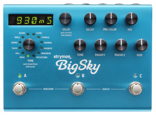 Strymon  Big Sky - Multidimensional Reverberator