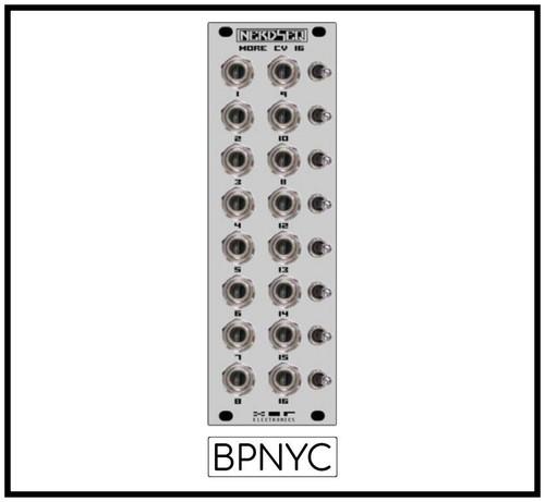 XOR Electronics NERDSEQ – CV16 EXPANDER