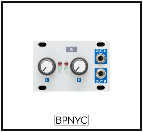 Intellijel  STEREO Line IN 1U -Stereo Balanced Line Audio Input