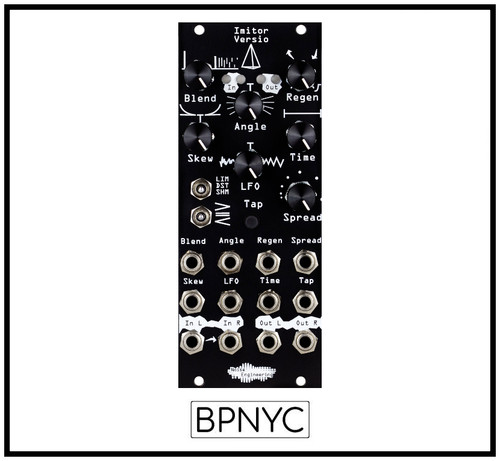 Noise Engineering  Imitor Versio  -Stereo in/out 12-tap multimode delay w clock sync/tap tempo
