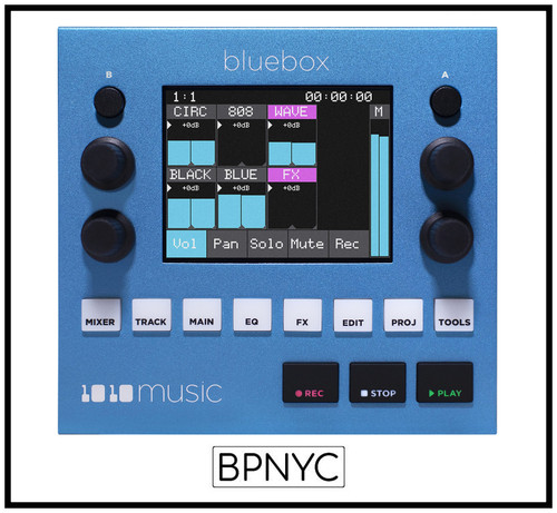 1010MUSIC Bluebox – Compact Digital Mixer/Recorder