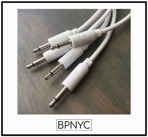 Erica Synths Eurorack patch cables 90cm (5 pcs) white