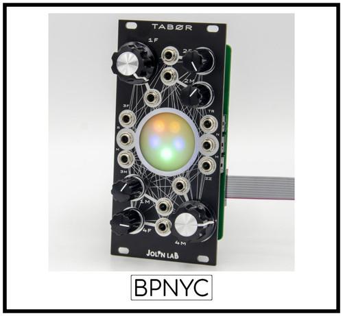 Jolin Lab TABØR Black Orb Avalanche Drone Rhythmic Oscillator