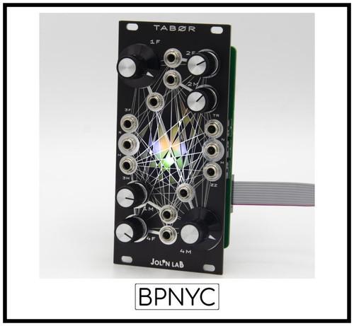 Jolin Lab TABØR Black Mirror Avalanche Drone Rhythmic Oscillator