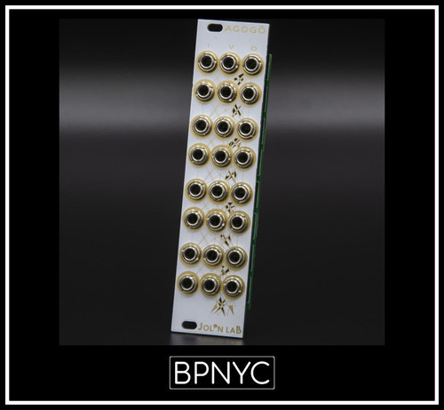Jolin Lab AGOGÔ White Mirror - 8 Chained Vactrol LPGs