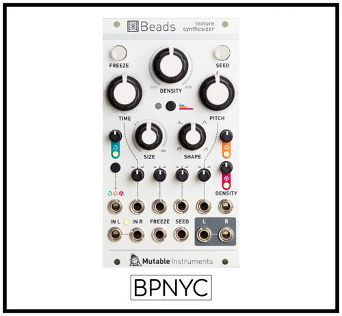 Mutable Instruments Beads - Texture synthesizer