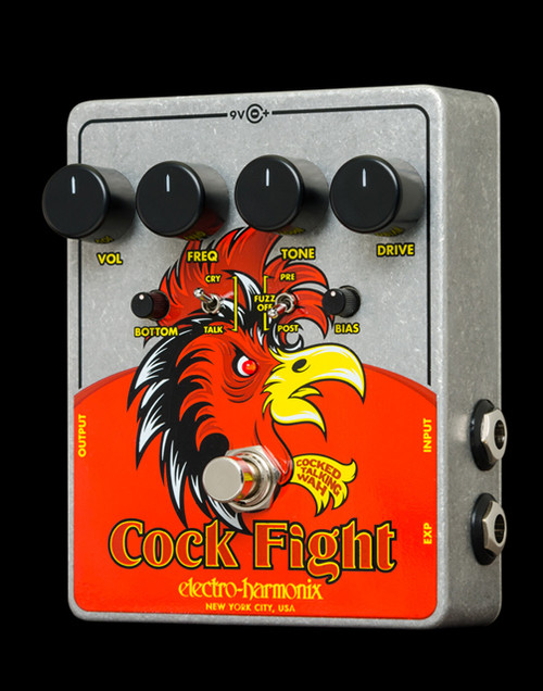 Electro Harmonix  Cock Fight Cocked Talking Wah