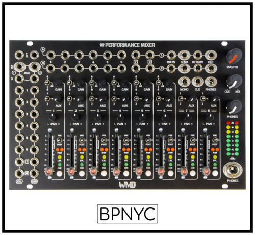 WMD  Performance Mixer Black