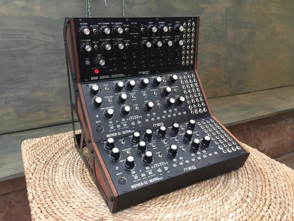 Moog DFAM + 2x Mother 32 w/Rack (SOLD)