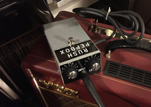 Rush PepBox Original by Pepe Rush British Fuzz