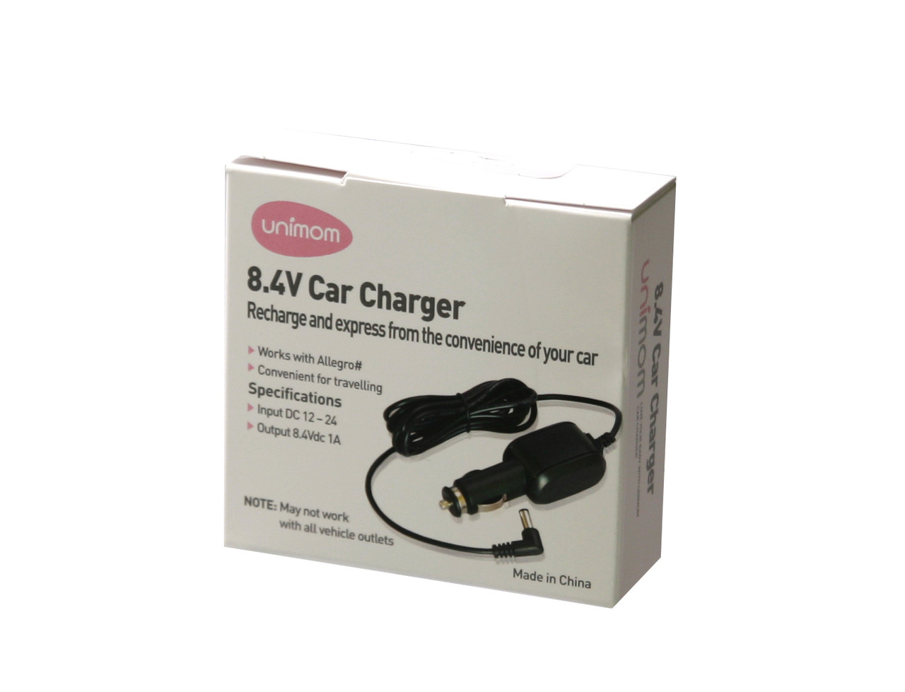 Allegro Breast Pump Car Charger