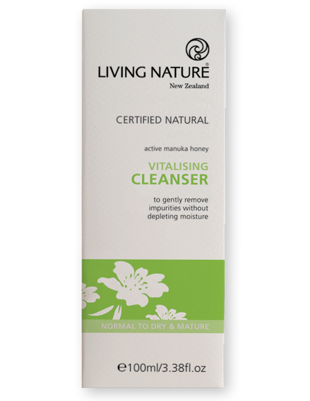 Living Nature, Vitalising Cleanser -100ml