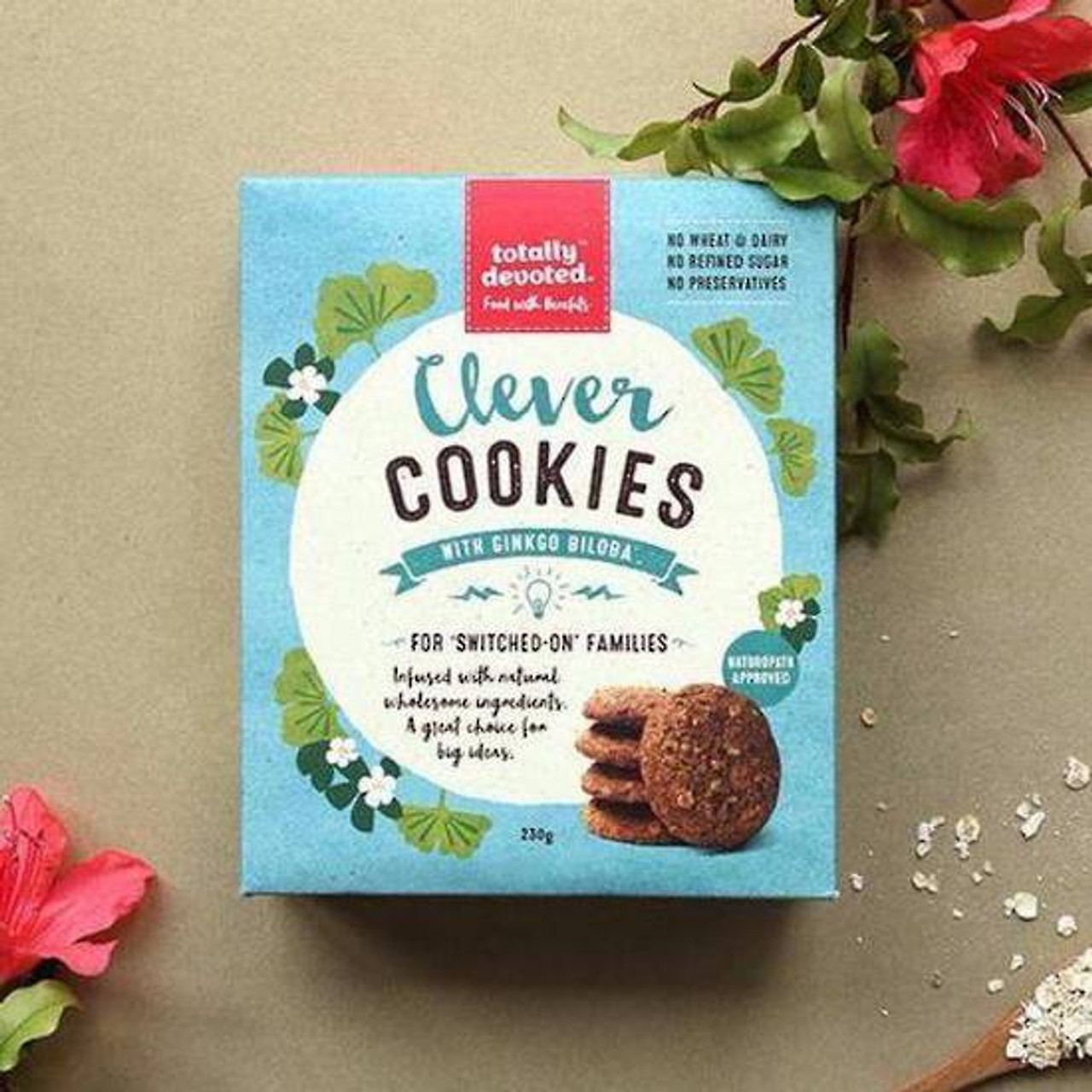 Clever Cookies with Ginkgo Biloba (Wheat and dairy free)