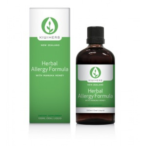 Herbal Allergy Formula 100ml- Kiwiherb