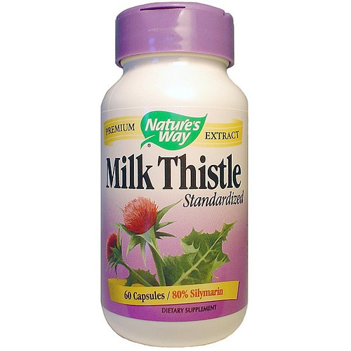 Milk Thistle - Natures Way 60 caps