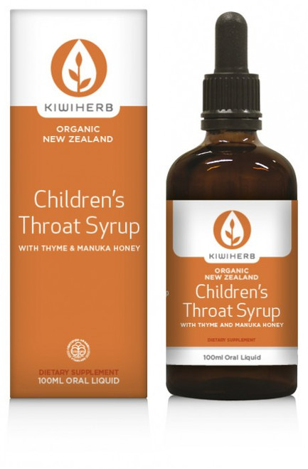 Childrens Throat Syrup-Kiwiherb 100ml