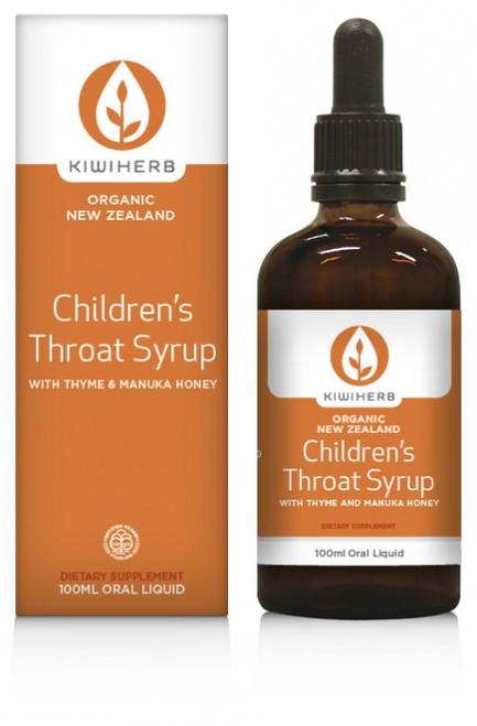 Childrens Throat Syrup-Kiwiherb 200ml