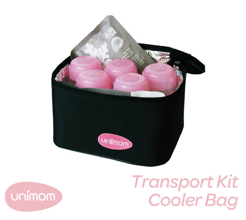 Breast Milk Transport Kit-Cooler Bag (Bottles Included)