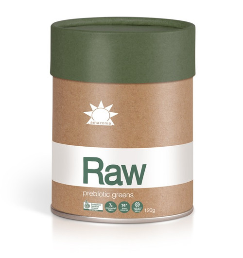 Amazonia Raw Prebiotic Greens (120g)