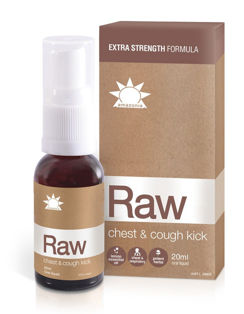 Amazonia Raw Chest & Cough Kick (20ml)
