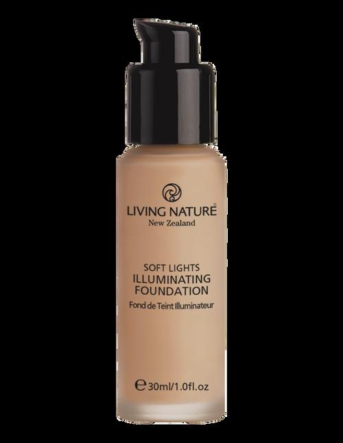 Living Nature's Natural Illuminating Foundation - Dawn Glow - 30ml
