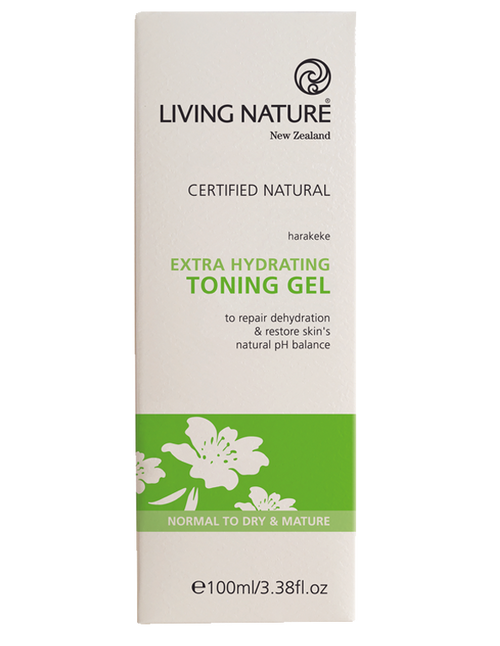 Living Nature, Extra Hydrating Toning Gel - 100ml