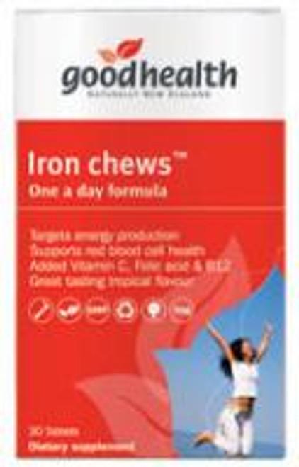 Iron Chews 30 caps, Good Health