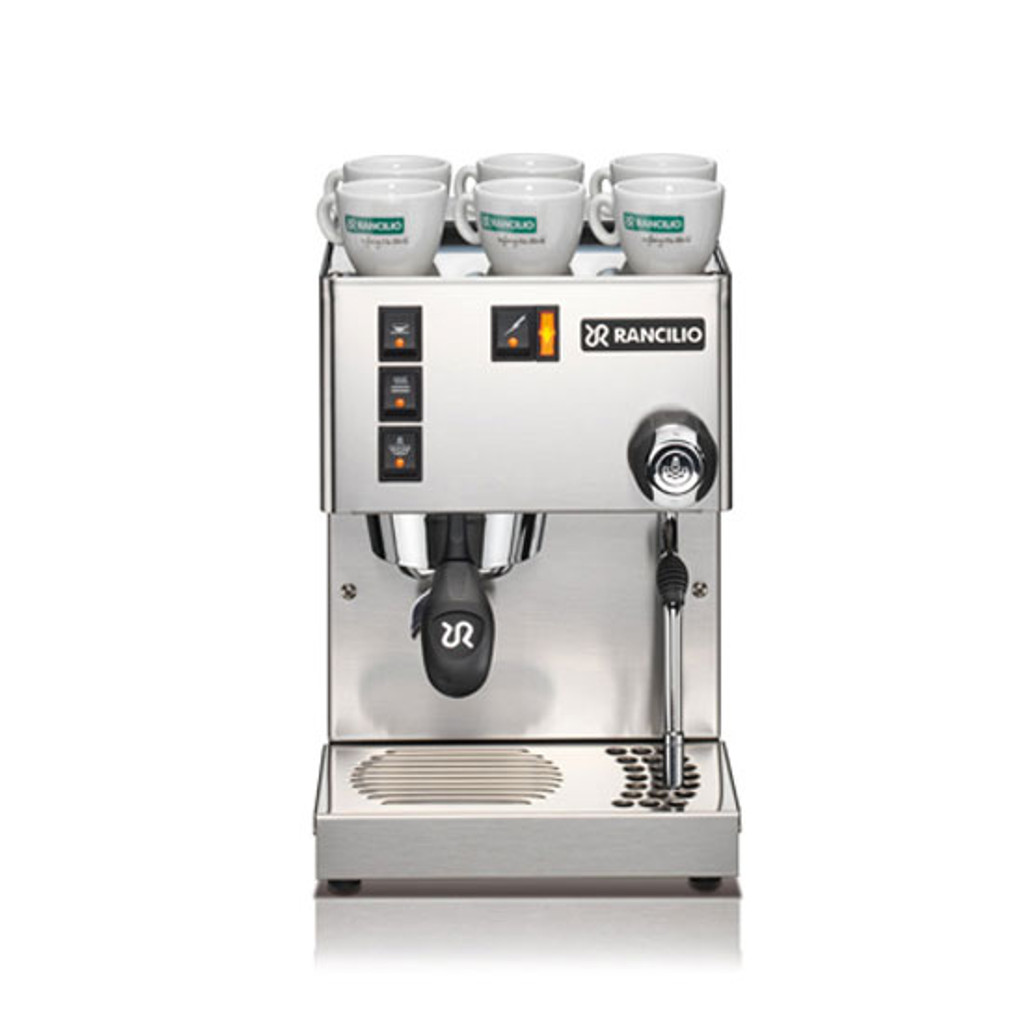 Rancilio Silvia Espresso Machine Kit (Espresso Machine, Grinder & Base) - 3