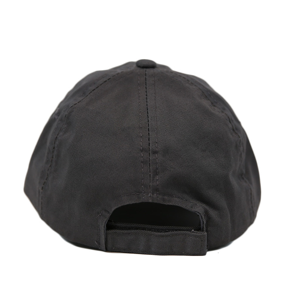 Left Coast Ball Cap - Grey - Back