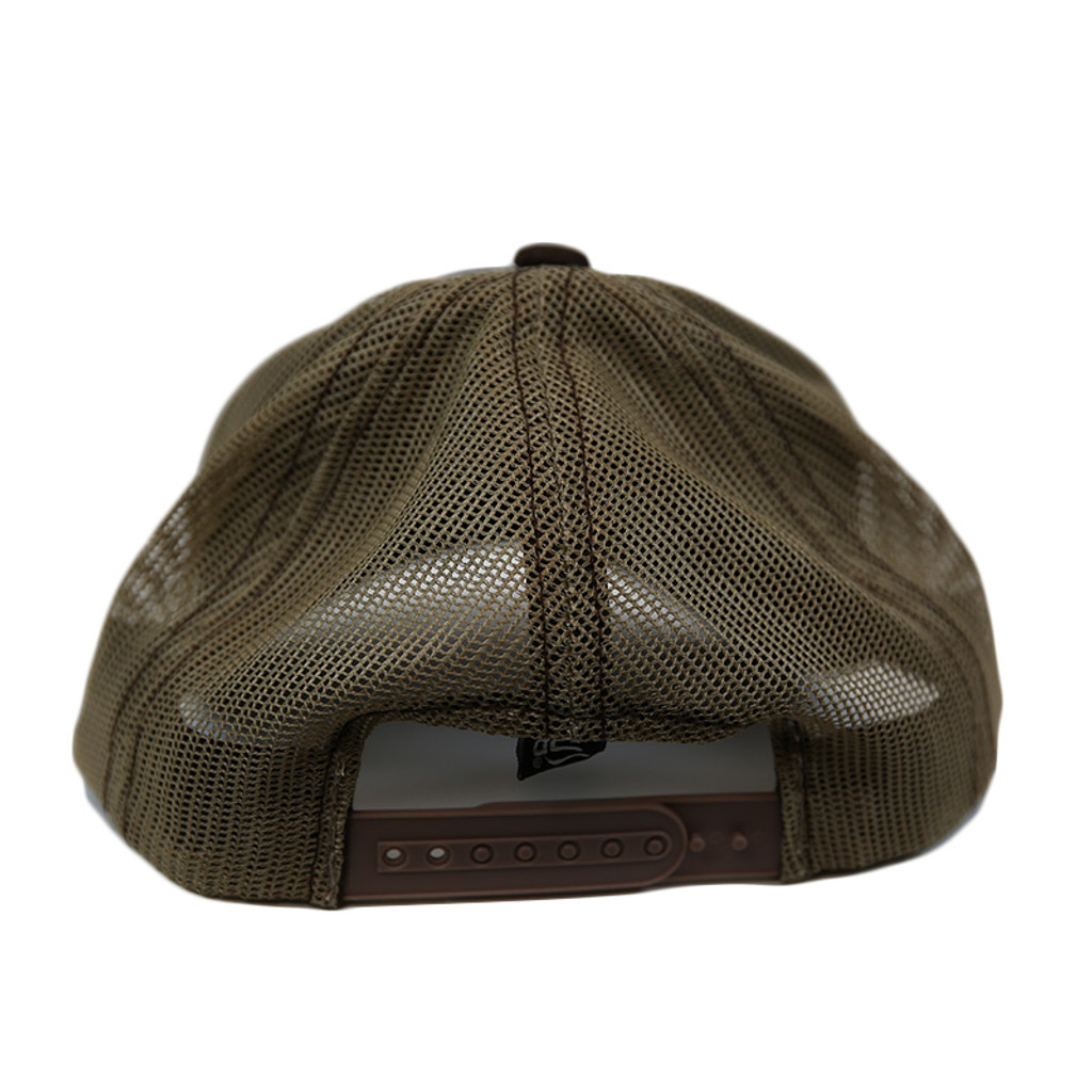 Left Coast Trucker Hat - Espresso - Back