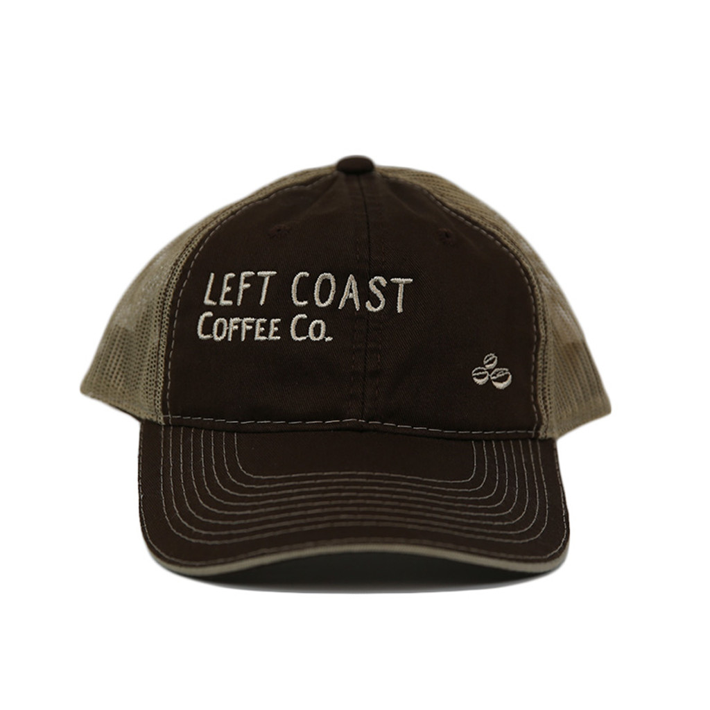 Left Coast Trucker Hat - Espresso