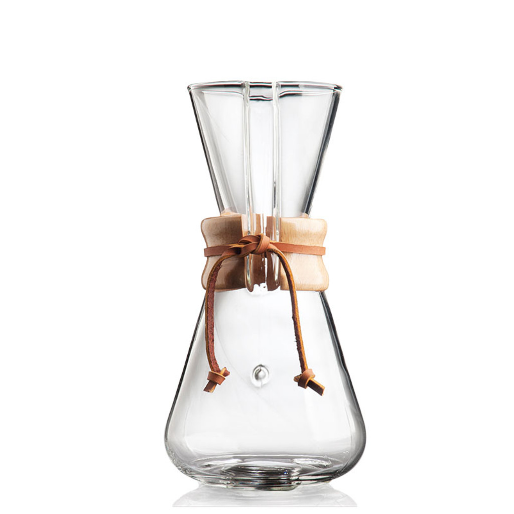 Chemex Three Cup Classic Coffeemaker - Side