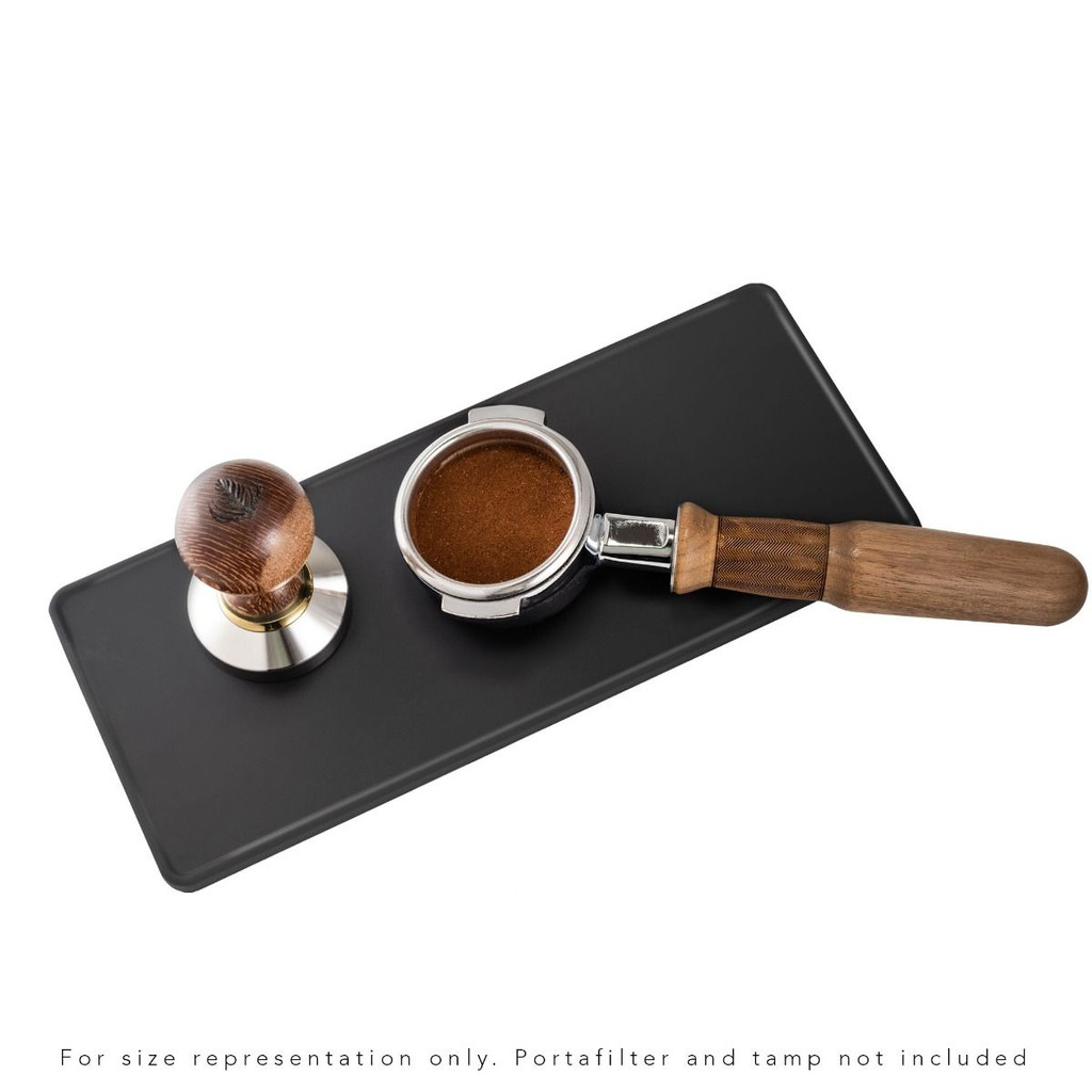 "Espresso Parts Barista Basics 5"" x 12"" Tamping & Packing Mat - 5"
