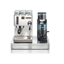 Rancilio Silvia Espresso Machine Kit (Espresso Machine, Grinder & Base)