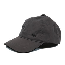 Left Coast Ball Cap - Grey - Left Side