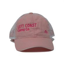 Left Coast Trucker Hat - Pink