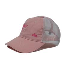 Left Coast Trucker Hat - Pink - Left Side