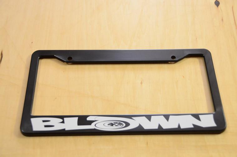 Blown License Plate Frame