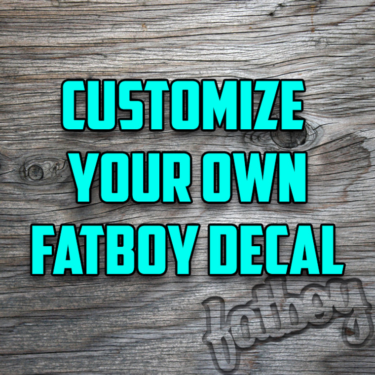 EVER WANTED TO CREATE YOUR OWN DECAL? NOW YOU CAN!
