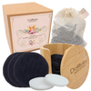 Bamboo Cotton Face Pads + Nesting Pot