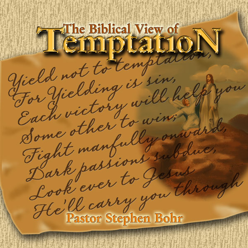 The Biblical View of Temptation - DVD Set