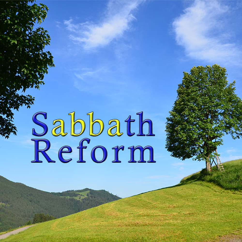Sabbath Reform - CD Single