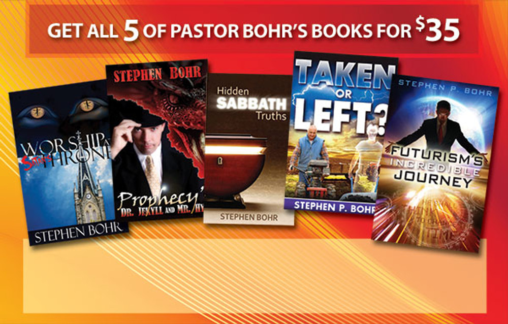 All 5 of Pastor Bohr's Books - Special